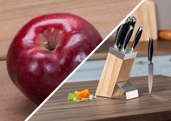 Фото яблока сломало людей в Сети. Оно наполовину съедено, но выглядит целым - спасибо необычной мякоти
