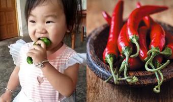Девочка vs острый перец. Малышка впервые съела чили и показала, какими должны быть мемы про разочарование