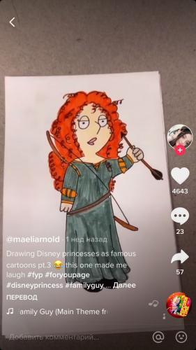 Американка рисует принцесс Диснея