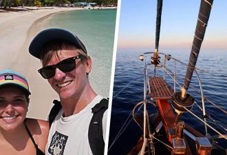 Пара на три года ушла в плавание на лодке и застряла в море. Путешествие шло хорошо, а потом настал 2020-й