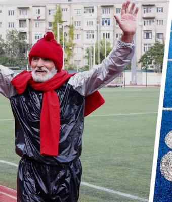 Люди нашли героя — старика, скинувшего 9 кг за 5 часов бега. Дедушка сделал то, что не смогли 150 млн россиян