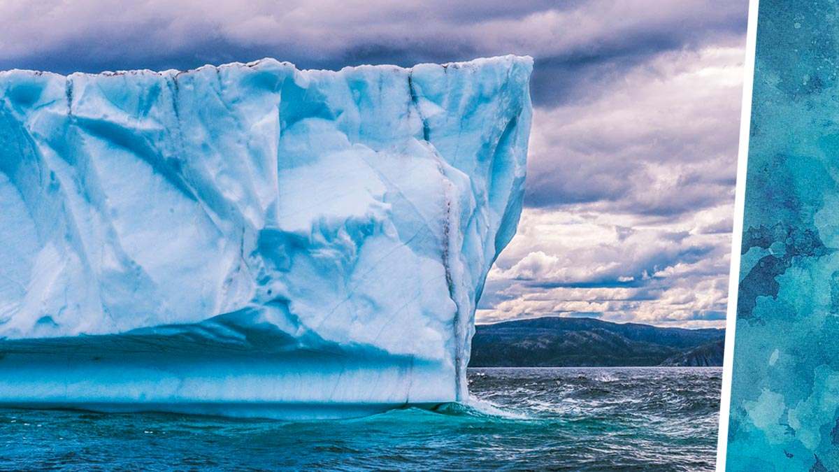 Никогда не пытайтесь покорить айсберг. Путешественники попробовали и сняли «Титаник» — но наоборот