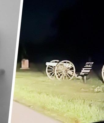 Водитель заснял призрака на поле битвы Гражданской войны. Люди ищут научное объяснение, но пока неубедительно