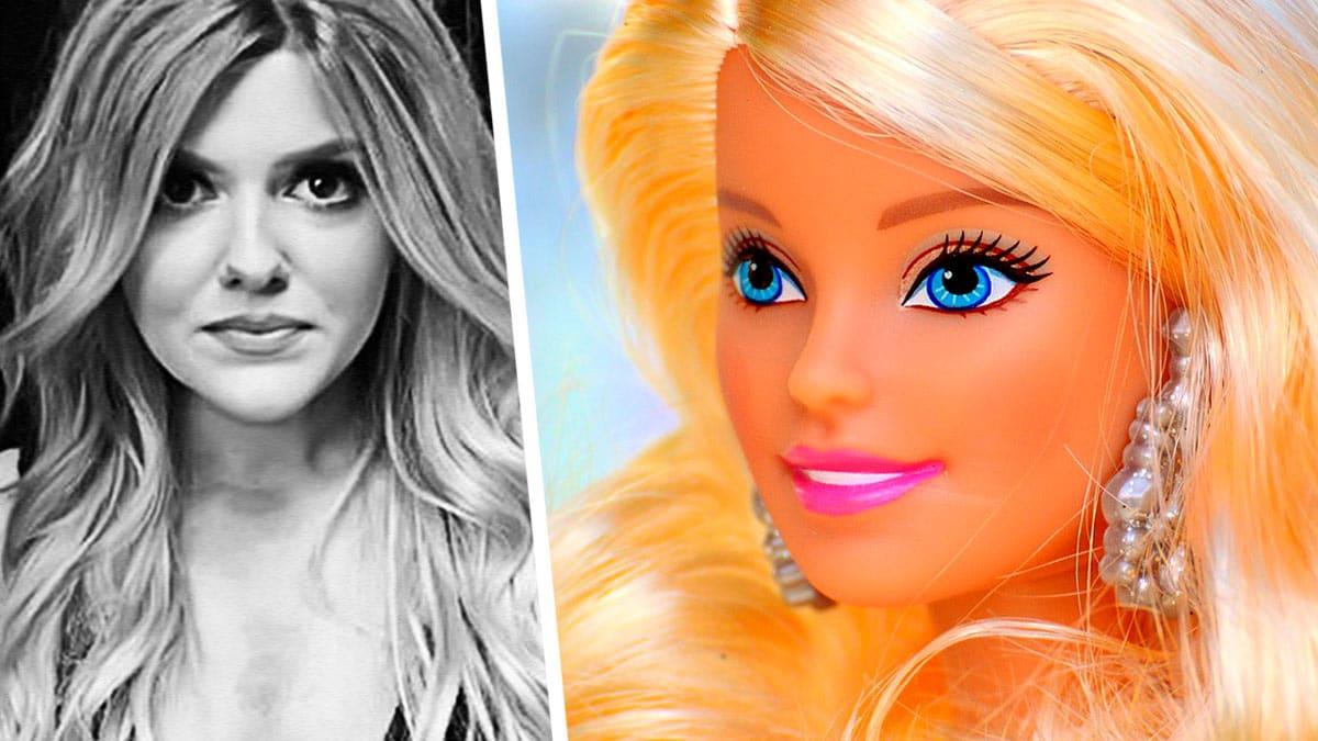Модель хотела стать похожей на куклу, но перестаралась. Вышла недетская история о Барби, свернувшей не туда