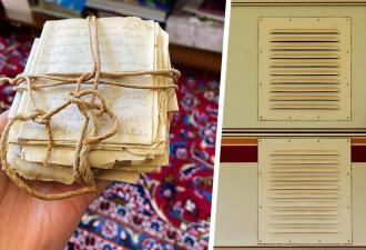 Владелец дома нашёл тайник с любовными письмами. Кажется, подростки 50-х мало отличались от зумеров