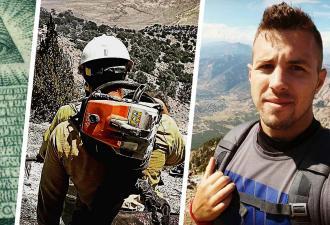 Пожарный дал бой конспирологам из TikTok, но сам оказался горячее огня. Ведь он — вылитый Райан Рейнольдс