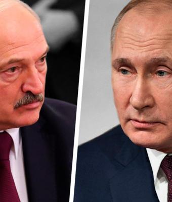 Путин и Лукашенко встретились и стали мемом. В соцсетях шутят про «Довод», сиба-ину и страдающее Средневековье