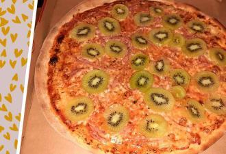 Жена увидела, что муж приготовил на ужин, и подала на развод. Оливки она бы простила, но пиццу с киви — нет