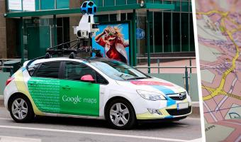 Путешественник нашёл себя на панораме Google Maps у старта пути. Как же он удивился, когда взглянул и на финиш
