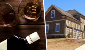 Отец каждый год дарил сыну виски, но запрещал открывать его. Спустя 28 лет, покупая дом, мужчина понял почему