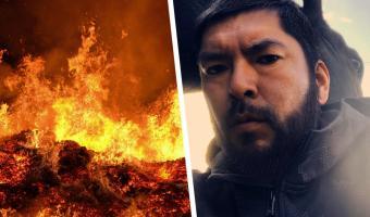 Пожарный показал своё лицо после борьбы с огнём. Это герой, решили люди — а потом захейтили полицию