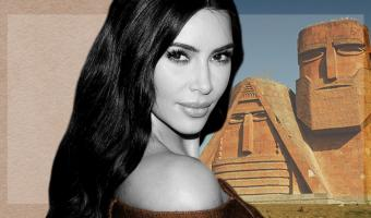 Ким Кардашьян показала, как поддержать армян в конфликте в Карабахе. Портал в ад есть, и он под её постами