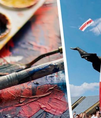 Художница передала всю боль протестов в Беларуси через картину. Но хейт ударил сильнее, чем дубинки силовиков