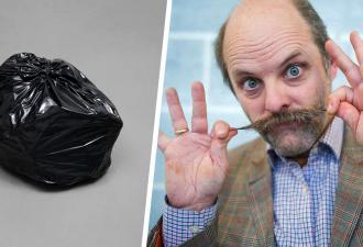 Художник не стал утруждаться и сделал экспонатом мусорный мешок. Но лучше вам не знать, сколько он стоит