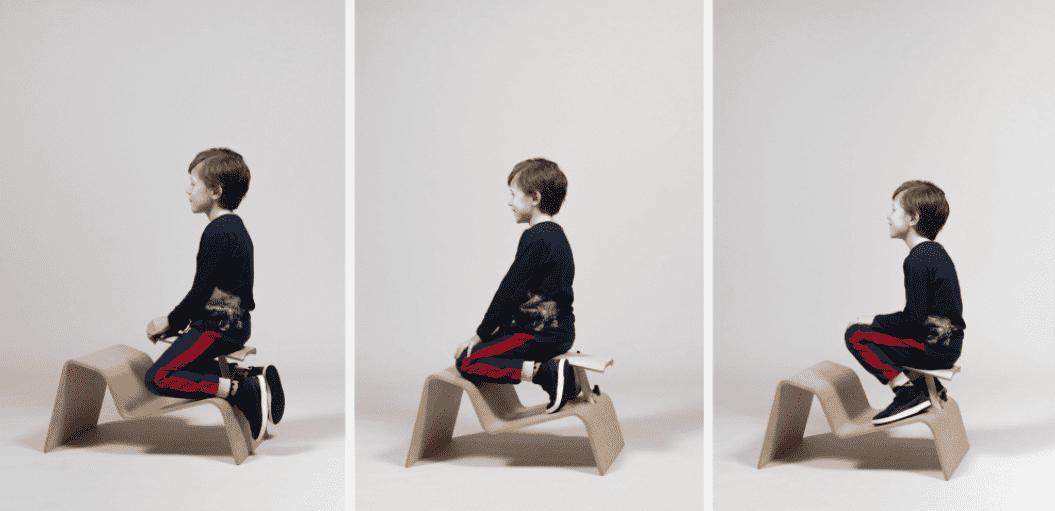 Дизайнер создал стулья, которые научат правильно сидеть. Правда, усидеть на них не просто, но так и задумано