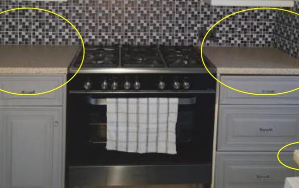 Женщина похвасталась обновленной кухней, но все озадачены. Люди видят оптическую иллюзию вместо ремонта