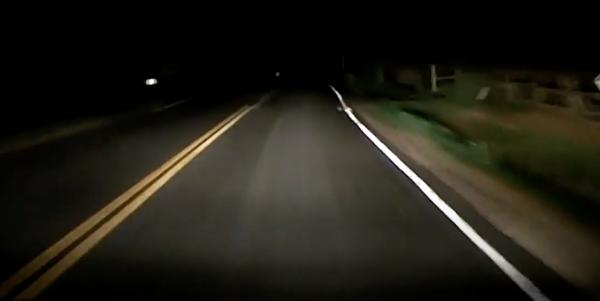 Видеорегистратор заснял страшную тень в тех местах, где происходит действия романов Кинга