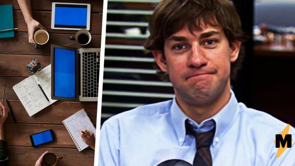 """Мужчина проверил на коллегах пранк Джима из """"Офиса"""", но жизнь - не сериал. Шутка превратилась в катастрофу"""