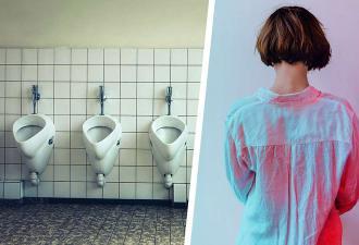 Девушку выгнали из женского туалета и отправили в мужской. При взгляде на её фото понятно, почему
