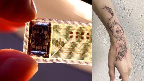 В левой руке чип от домофона, в правой - от карты. Девушка показала, что у неё под кожей, и люди даже завидуют