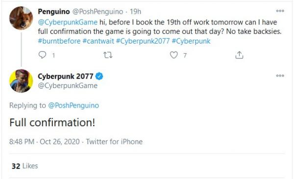 """Гейм-дизайнер Cyberpunk 2077 показал, какие сообщения получает из-за переноса. И напугал создателя """"Чернобыля"""""""