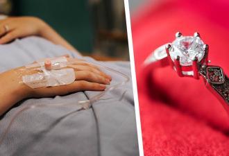 Жених сделал невесте предложение и довёл её до больницы. Его способ подарить кольцо оказался слишком опасным