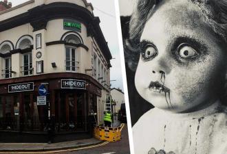Любитель паранормального изучал бар с призраками со своей одержимой куклой. Результат довёл её до слёз