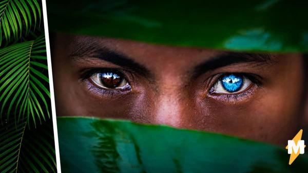 У людей глаза светятся аномальным синим цветом, но не от счастья. Источник свечения делает их новыми мутантами