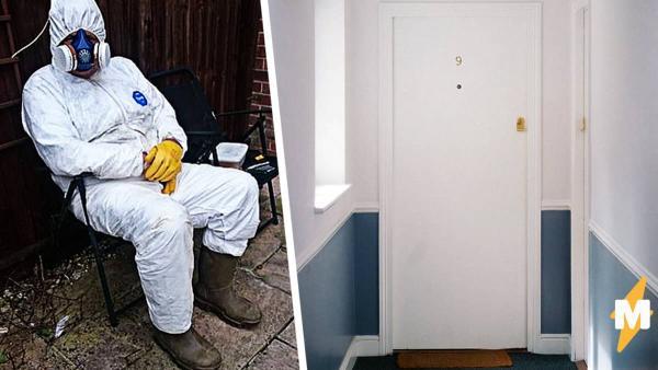 Хозяин сдавал хорошую квартиру жильцам, а вернул портал в ад. Попасть внутрь дома удалось лишь в химзащите