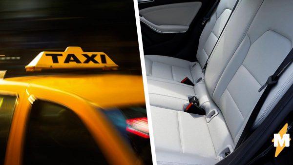 Пассажир вернул эмигранта-таксиста на родину одним хлопком в салоне авто. Хлопал он не ладонями, а в сиденье