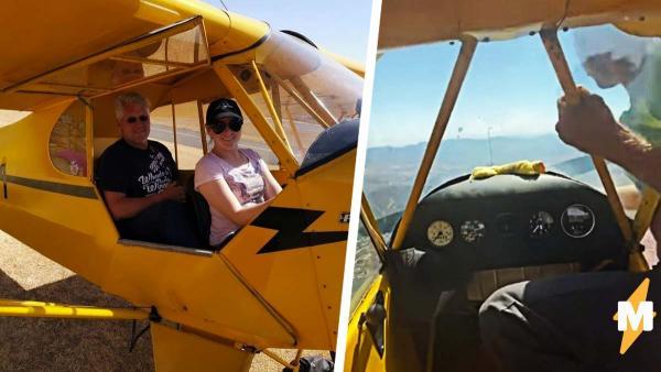 Что делать, если у самолёта в воздухе заглох двигатель? Пилот завёл его вручную, но пришлось вылезти из кабины