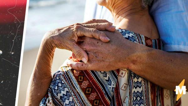 Внучка показала молодых бабушку и дедушку, но восхищались люди ими недолго. Правда сменила очарование грустью
