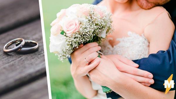 Невеста полгода готовилась к свадьбе, но жених испортил все планы. Он был не в курсе, что у двоих отношения