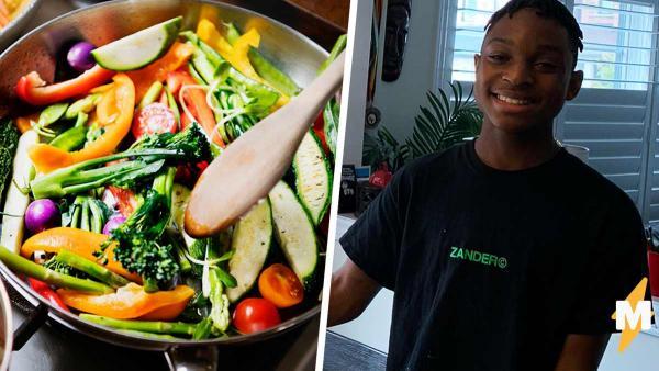 Что будет, если за готовку возьмётся 14-летний мальчик. Подросток накрыл стол и удивил полмилллиона людей
