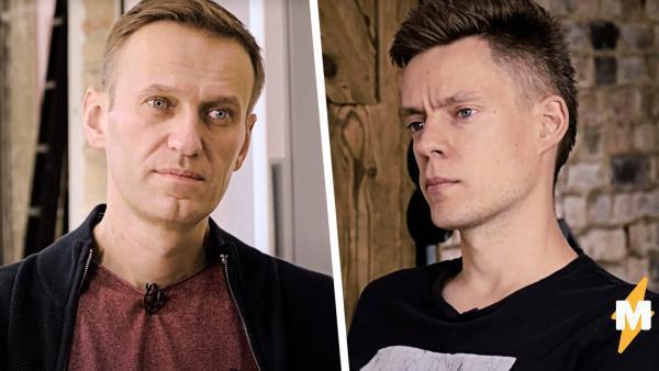 Юрий Дудь взял первое интервью у Алексея Навального после отравление.