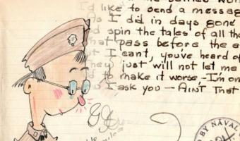 Внук нашёл дневник деда времён Второй мировой и узнал всё о пропаганде. Увидеть три версии правды он не ожидал