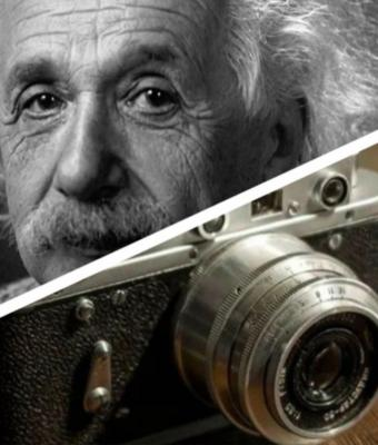 Заходит как-то Эйнштейн в банк, а его все фоткают. Даже 2020-й не помешал ему победить время и пространство