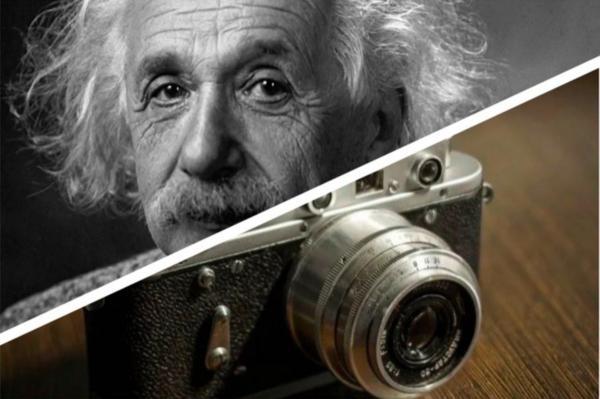 Заходит как-то Эйнштейн в банк, а его все фоткают. Даже 2020-ый не помешал ему победить время и пространство