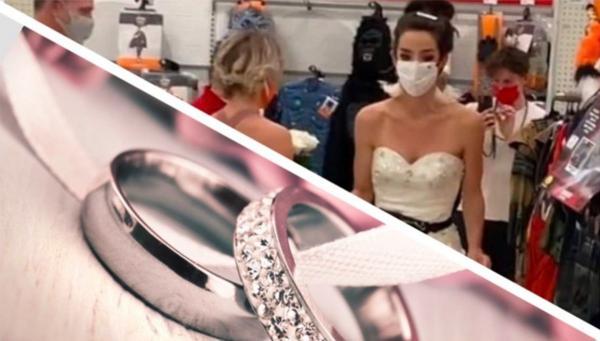 Жених оттягивал свадьбу до последнего, но упс. Невеста поймала его на работе, и церемонии эпичнее вы не видели