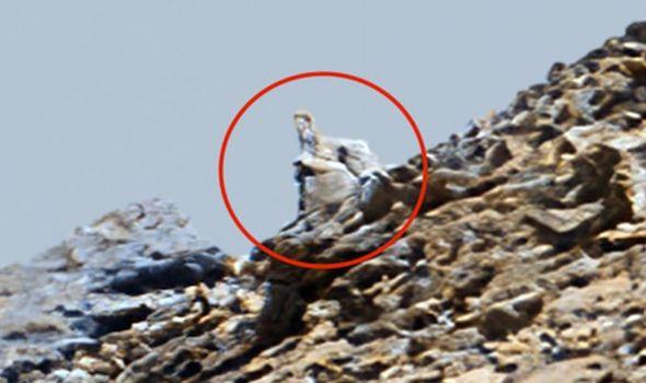 Наконец-то мы знаем, как выглядят пришельцы. Уфолог нашёл на Марсе их следы - и у людей не осталось сомнений