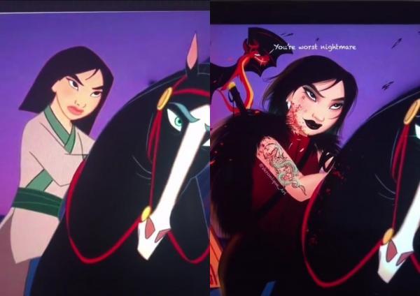 Художница сделала принцесс Disney злодейками, и люди влюбились. Их реакция доказывает: плохишей любят больше