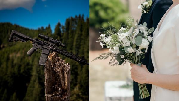 Люди увидели фото невесты с женихом и пришли в ярость. Ещё бы: «Красная свадьба» выглядела бы именно так
