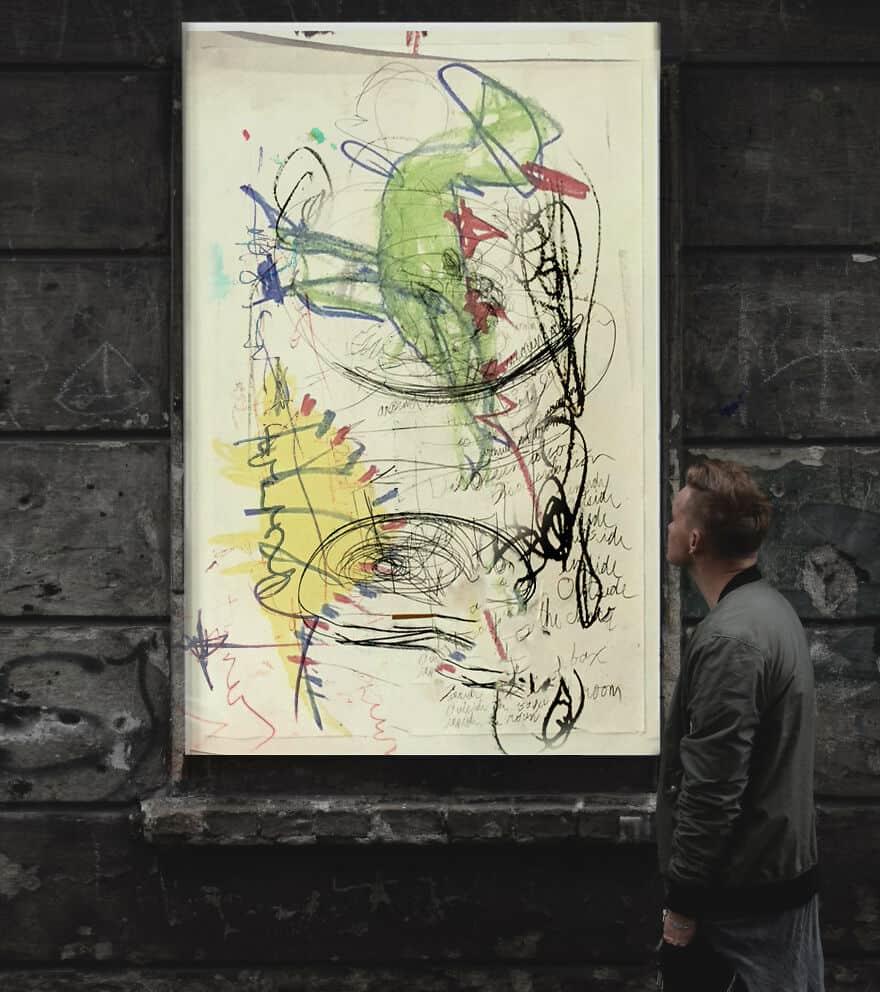 Художник создал картины правой и левой рукой и понял: в нём живёт несколько личностей. И не все одного пола