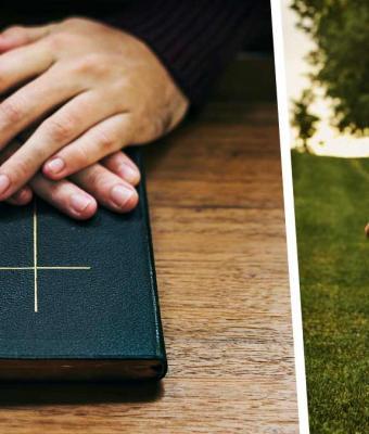 Священник хотел благословить девочку, но малышка испортила обряд. Да так, что в видео с ней влюбились миллионы
