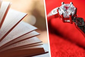 Девушка увидела в книге предложение выйти замуж, и она в бешенстве. Но для многих такой вандализм — романтика
