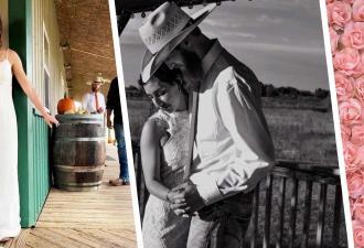 Невеста взяла мужчину за руку вслепую, но это был не её жених. Теперь свадебные фото испорчены слезами счастья