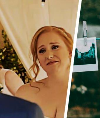 Два фото сделаны с разницей в 10 лет — на похоронах и на свадьбе. Но выглядят они одинаково, и людям больно