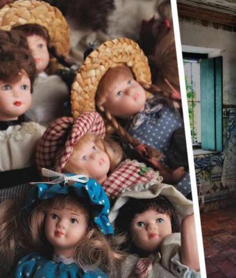 Девушка выкинула старую куклу из дома XIX века. Утром она выглянула в окно и едва не поседела