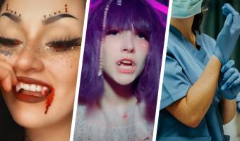 Блогеры становятся вампирами, а стоматологам больно на них смотреть. Ведь эти клыки так просто не исчезнут