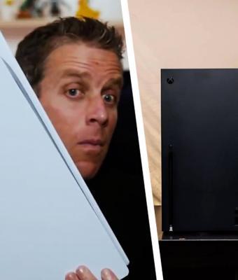 Блогерам наконец-то разрешили распаковать PS5. У людей две реакции — страх и восторг (вперемешку с мемами)